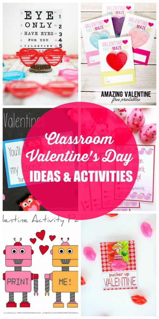 Classroom Valentine S Day Ideas And Activities The Girl Creative