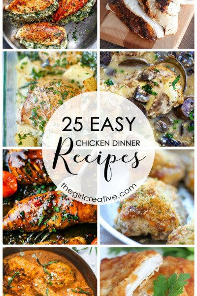 Easy Chicken Dinner Recipes | Chicken Recipes | Easy Weeknight Meals