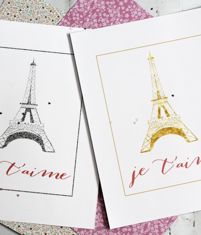 Eiffel Tower Wall Art Free Printable