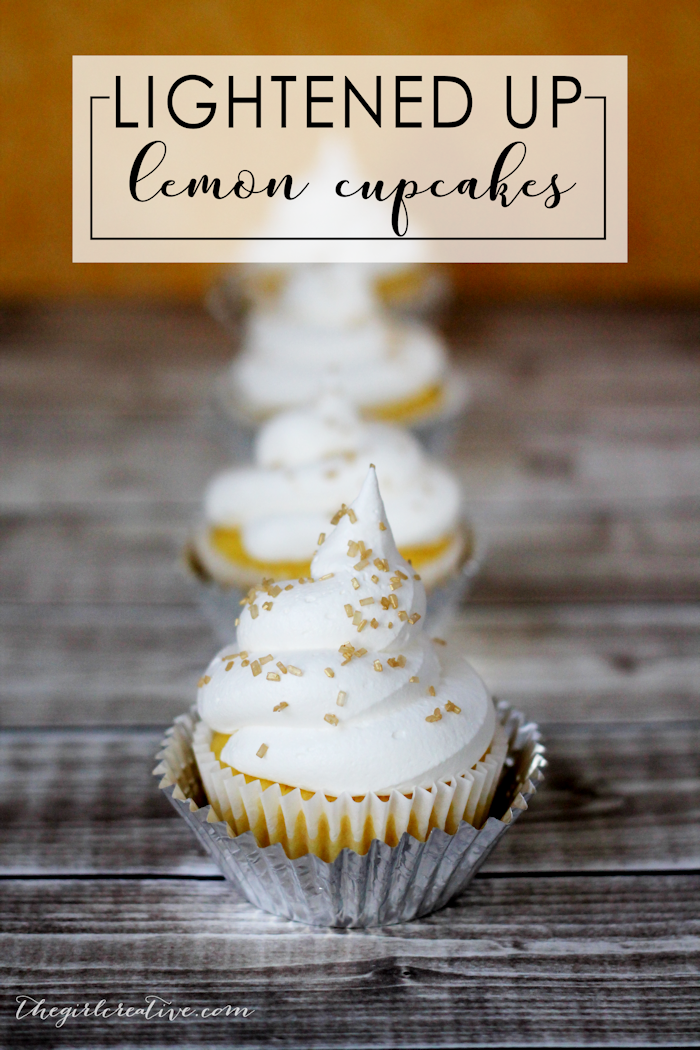 Light Lemon Cupcakes with only 3 ingredients | Diet 7UP Cupcakes | Spring Desserts