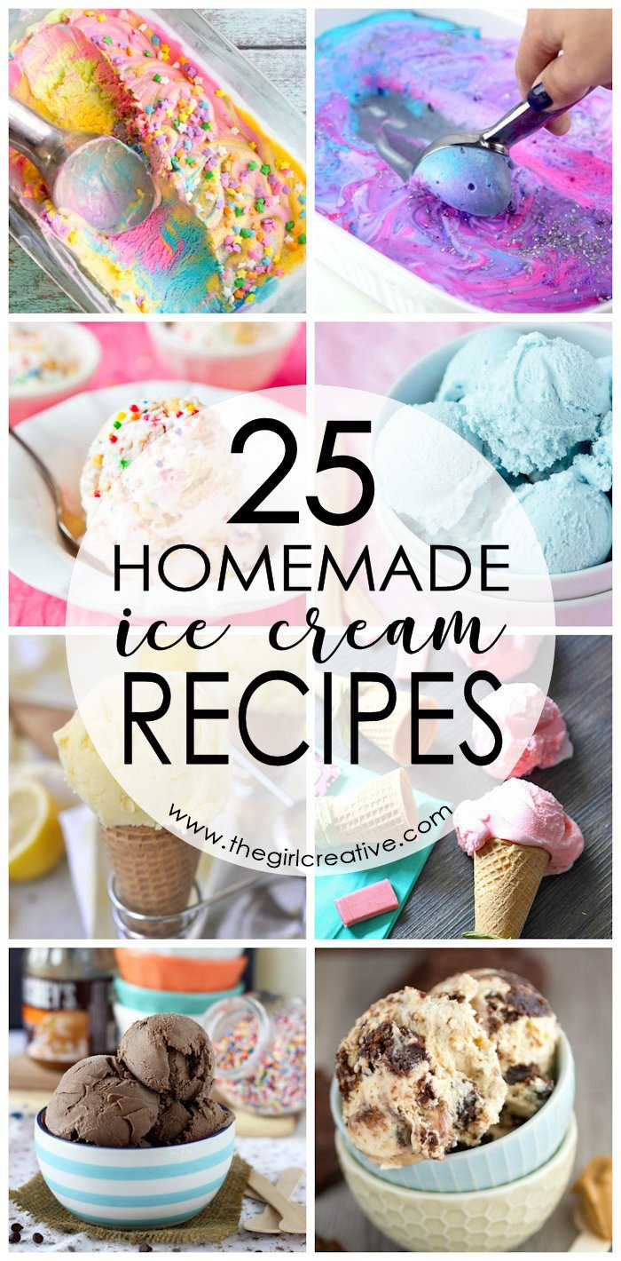 Homemade Ice Cream Recipes | How to make homemade ice cream | No Ice Cream Maker Ice Cream Recipes