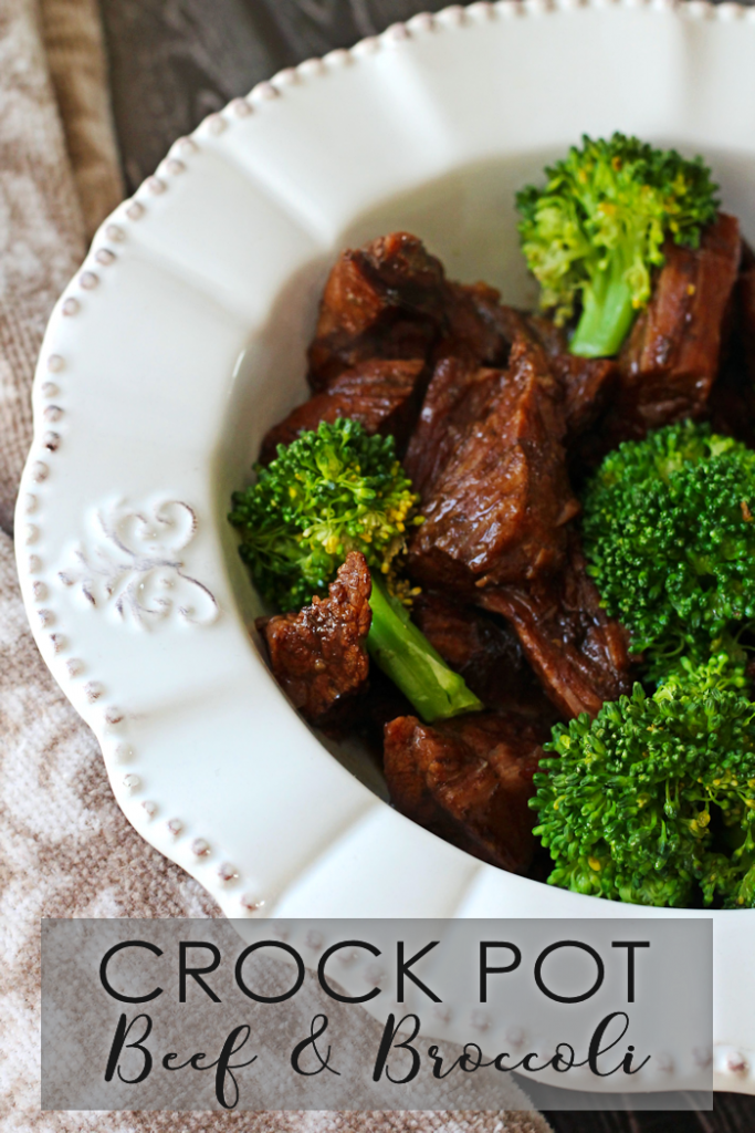 Crock Pot Beef and Broccoli - The Girl Creative