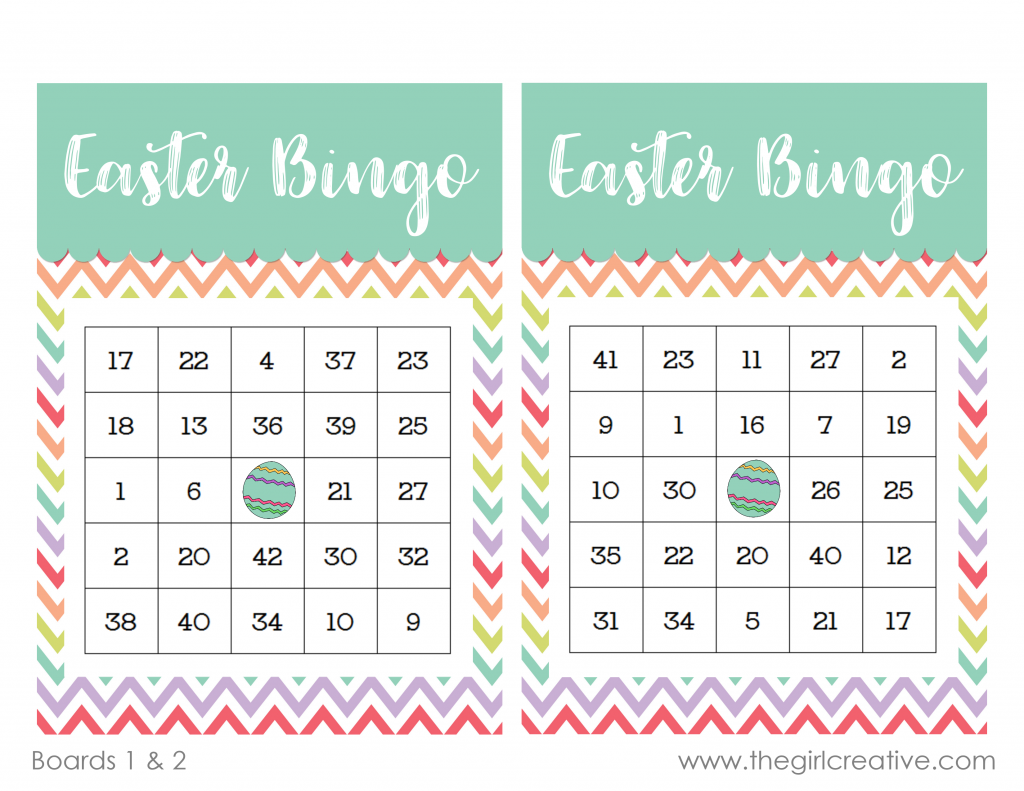 graphic about Printable Bingo Chips referred to as Printable Easter Bingo Sport - The Lady Imaginative