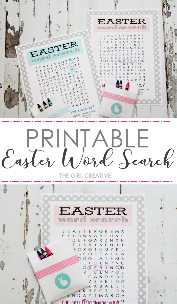 photograph regarding Printable Easter Word Searches named Printable Easter Phrase Glance - The Lady Innovative