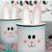 Nutella Easter Bunny Craft Idea