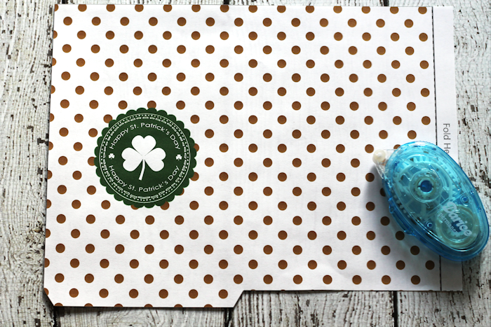 St. Patty's Day Treat Bags - Free Printable