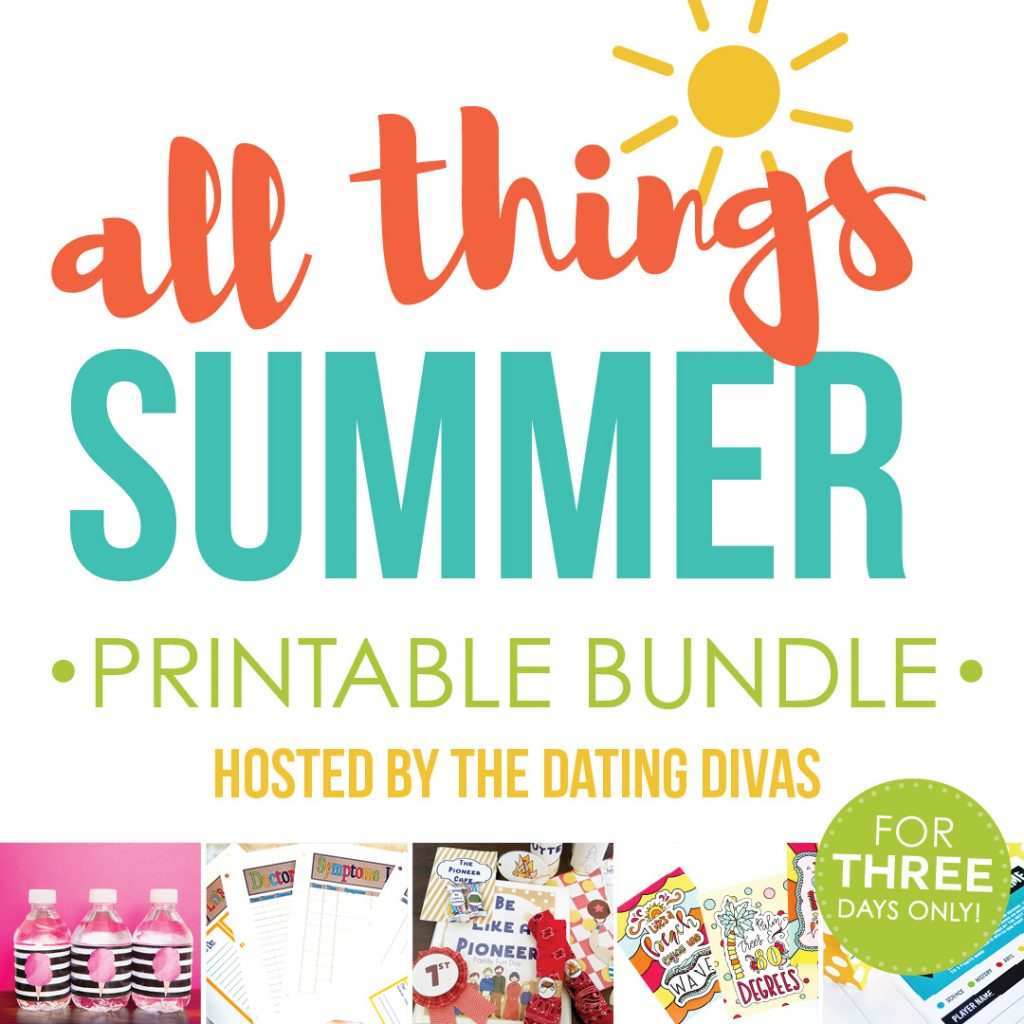 Summer Printables Bundle