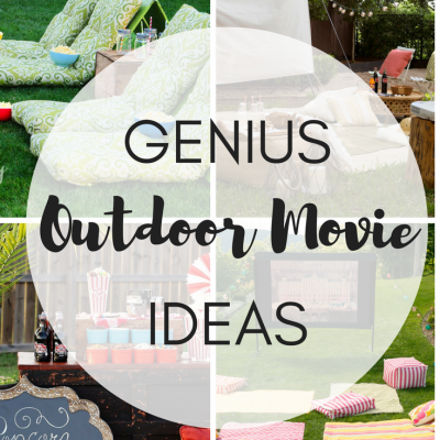 GENIUS OUTDOOR MOVIE IDEAS | Fun Ideas for Outdoor Movie Theaters
