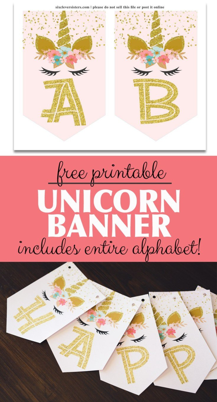 picture about Free Birthday Banner Printable named Free of charge Printable Birthday Banners - The Woman Inventive