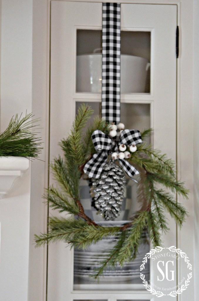 Buffalo Check Christmas Decor Ideas The Girl Creative