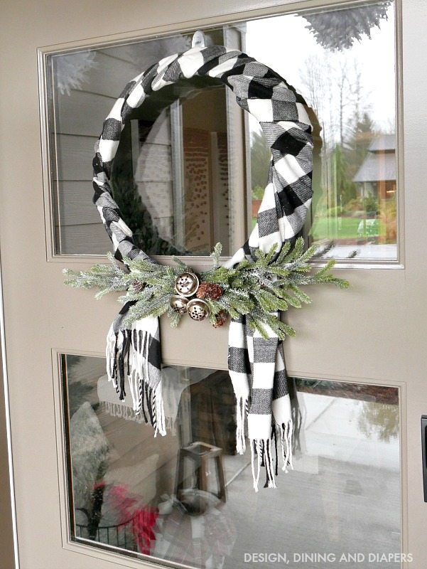 buffalo check christmas decor ideas - Buffalo Plaid Christmas Decor