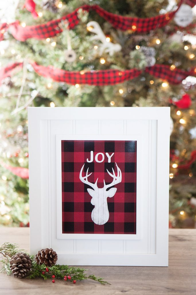 Buffalo Check Christmas Decor Ideas The Girl Creative