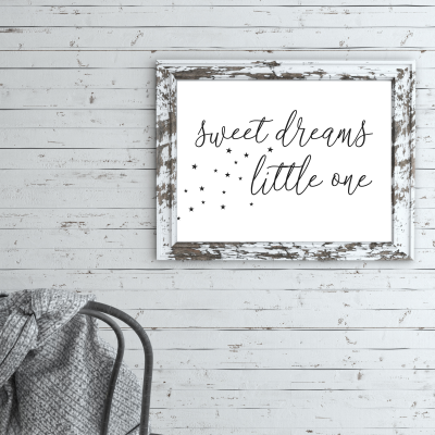 Free Printable Nursery Wall Art