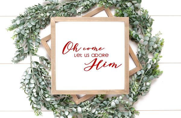 Christmas Printables for Your Home