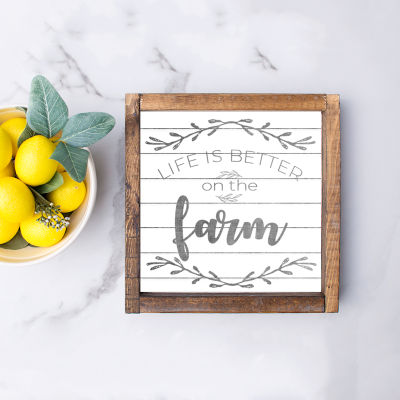 Farmhouse Printables for Your Home