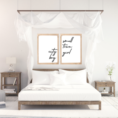 Master Bedroom Signs for Above the Bed