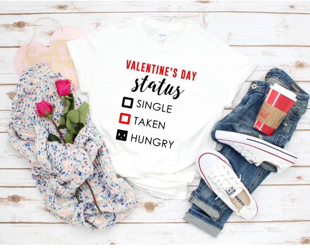 Valentine's Day Status Shirt