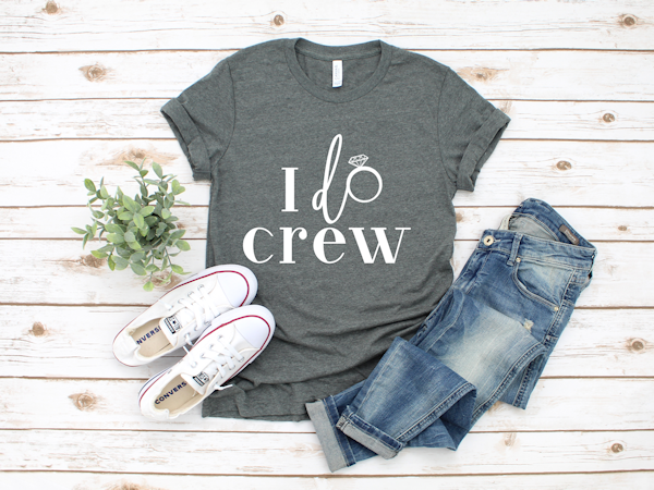 I Do Crew Bridal Party T-shirts