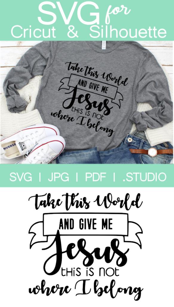 Faith Based Religious Tshirt Quote