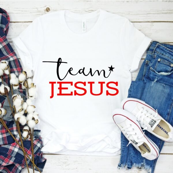 Team Jesus DIY T-shirt