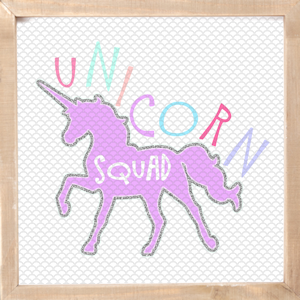 Unicorn Squad SVG