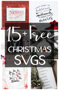 FREE Christmas SVGs for Holiday Crafting and DIY Gift Making