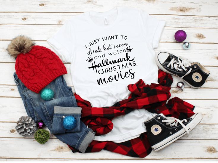Hallmark Christmas Movies SVG for T-Shirts