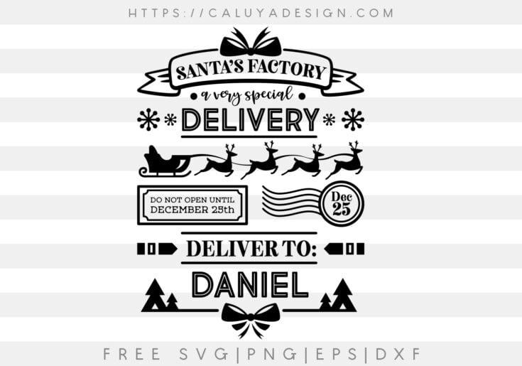 Free Santa Bag