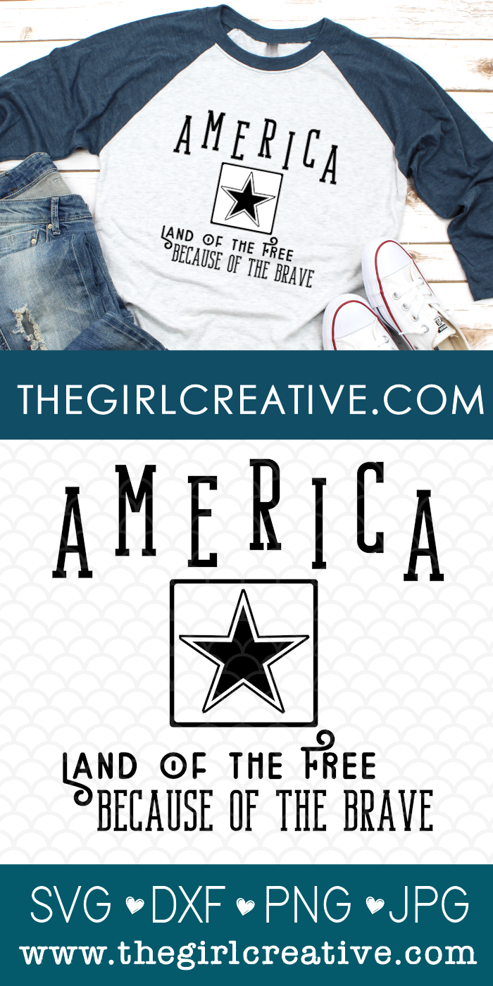 T-shirt with America and US Army Logo SVG