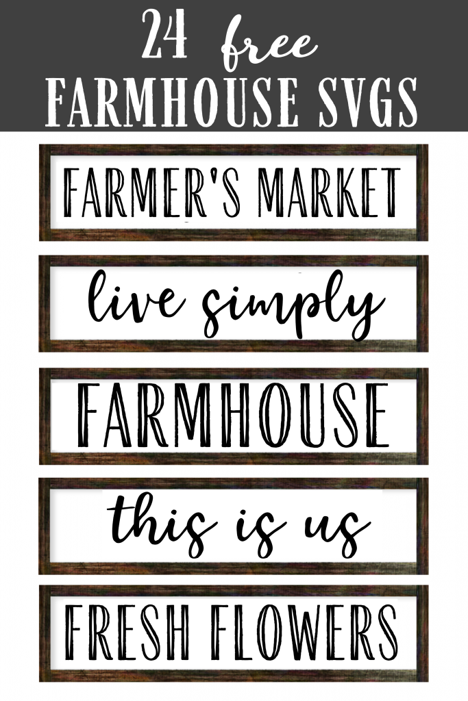 Wood signs with farmhouse quotes