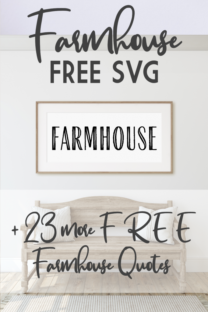 Mockup of Farmhouse Sign that you can make yourself