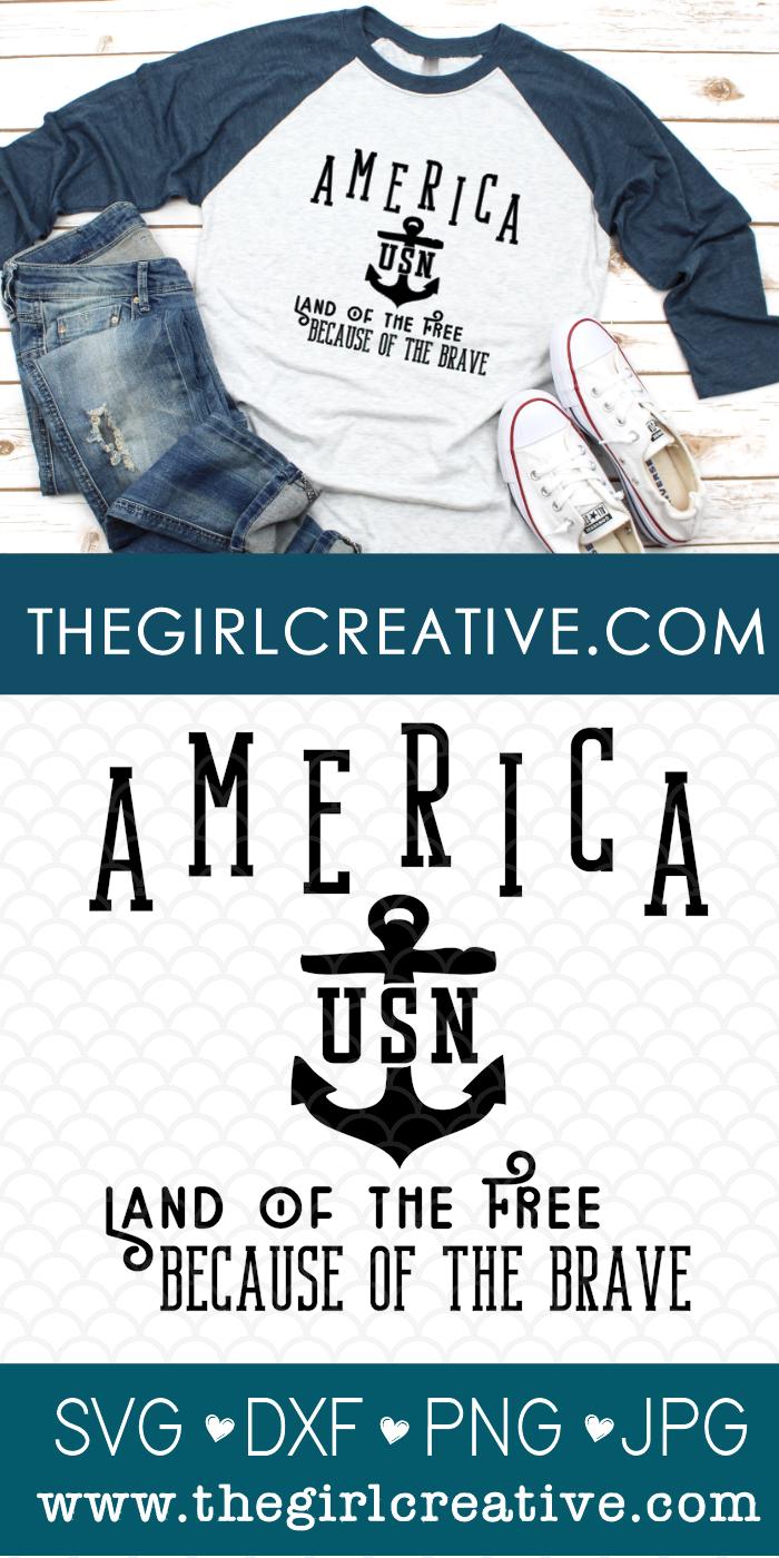 Tshirt with US Navy Logo