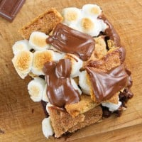 S'mores Brownies Recipe - pipandebby.com