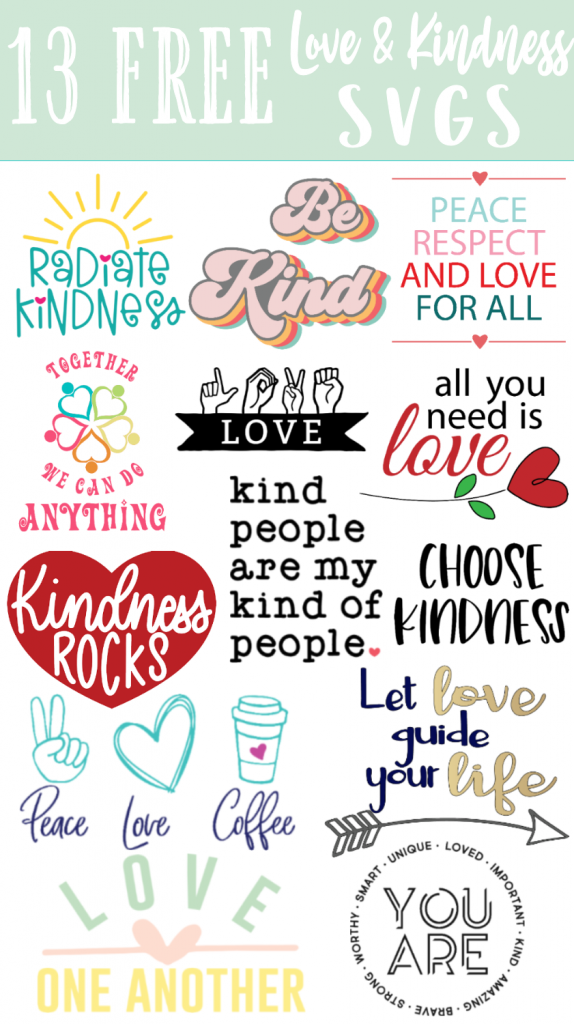 Free Love One Another Svg The Girl Creative