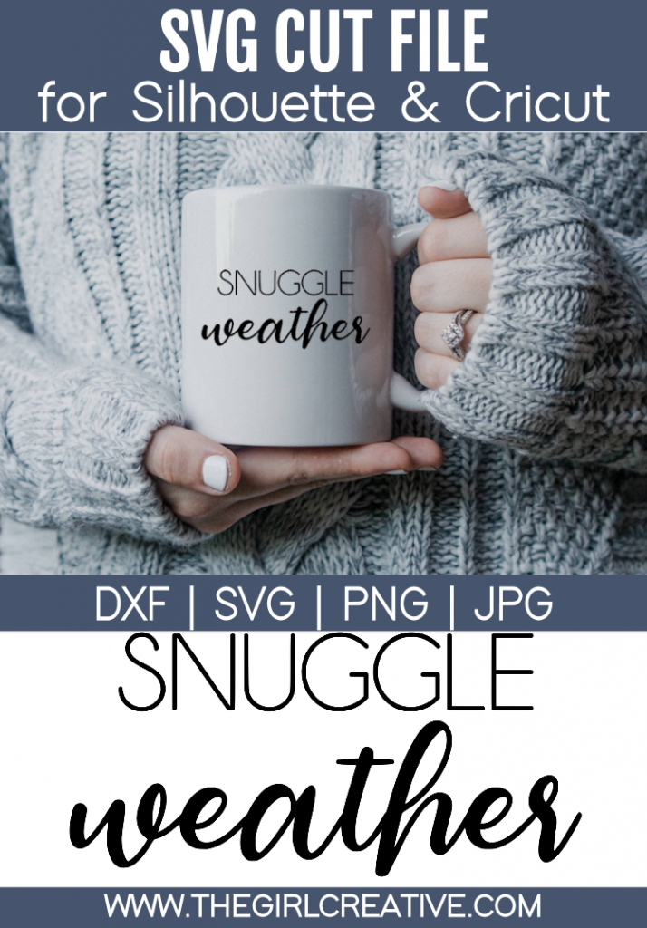 Snuggle Weather SVG