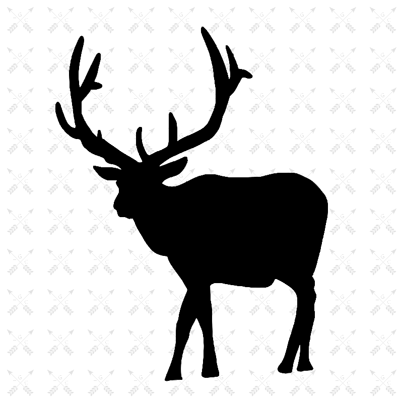 Reindeer with Antlers Clipart