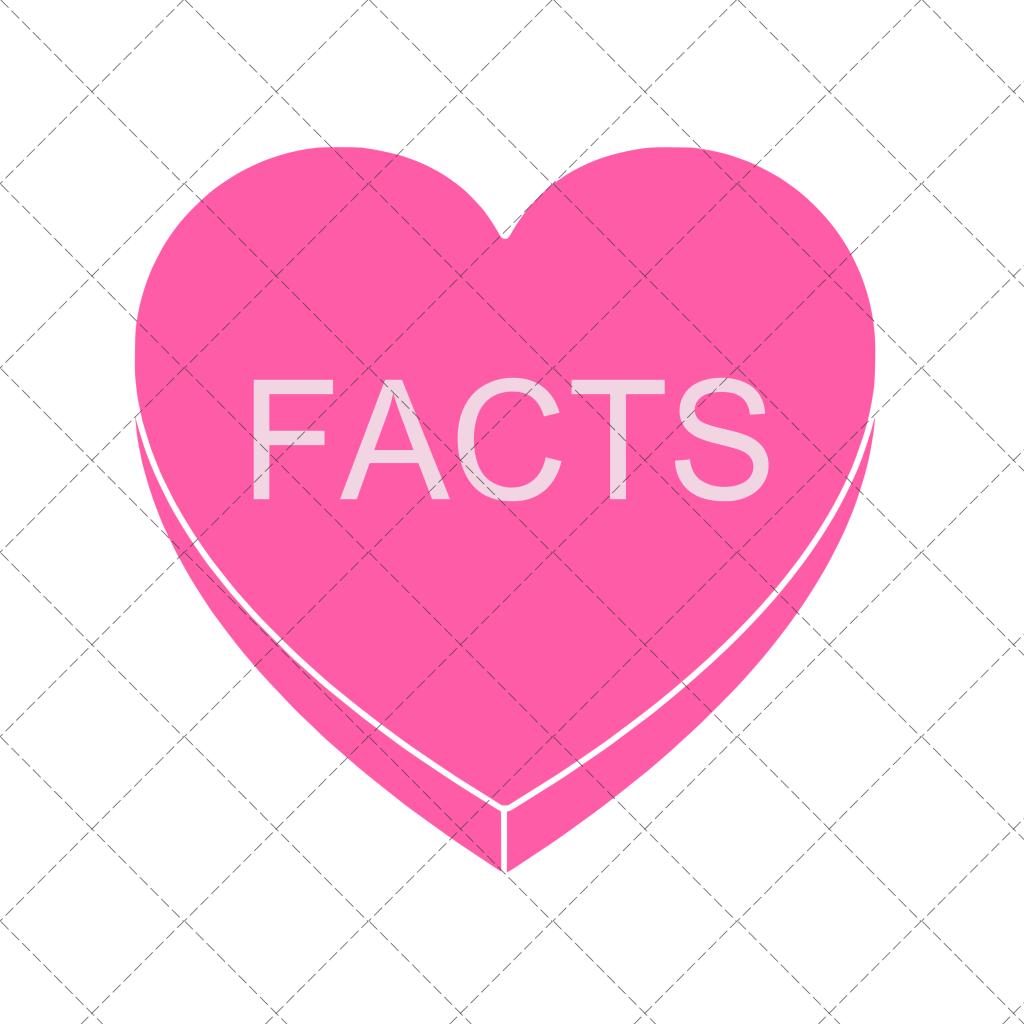FACTS Conversation Heart Clipart