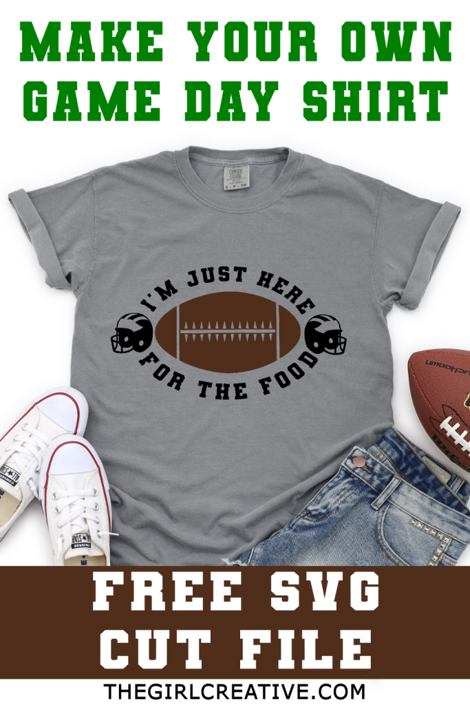 Grey Tee with Funny Football Quote