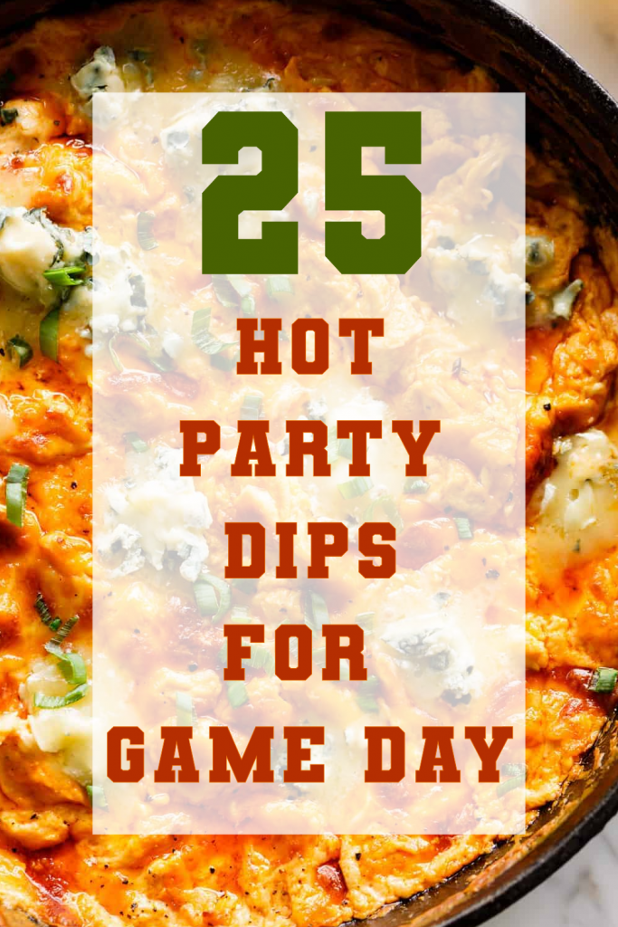 Promotional Graphic for Hot Party Dips