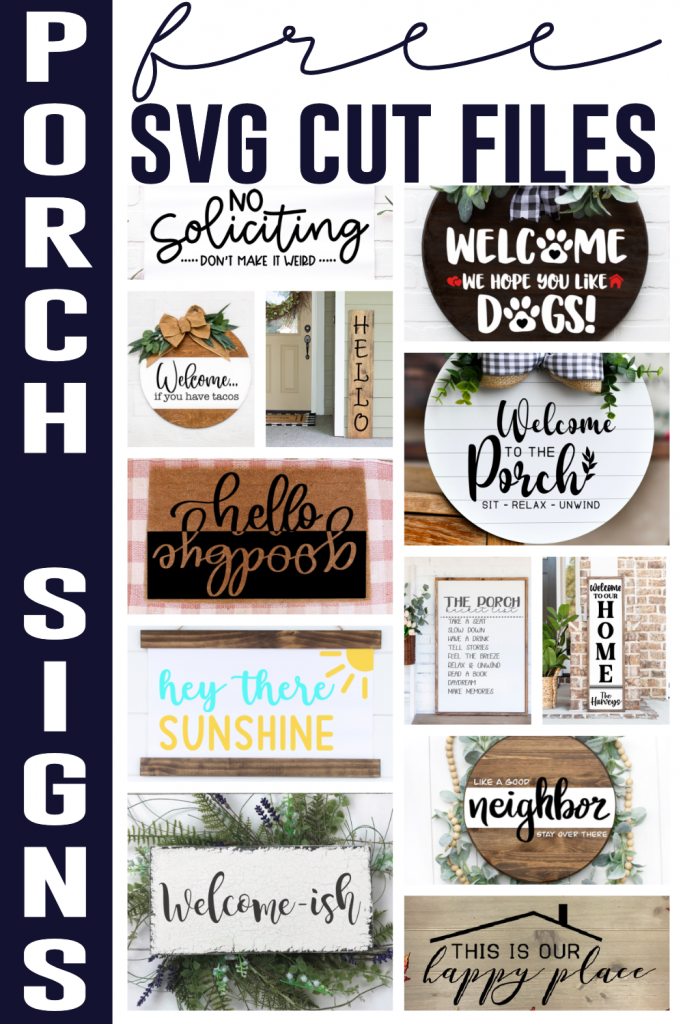 Porch Sign Craft Ideas