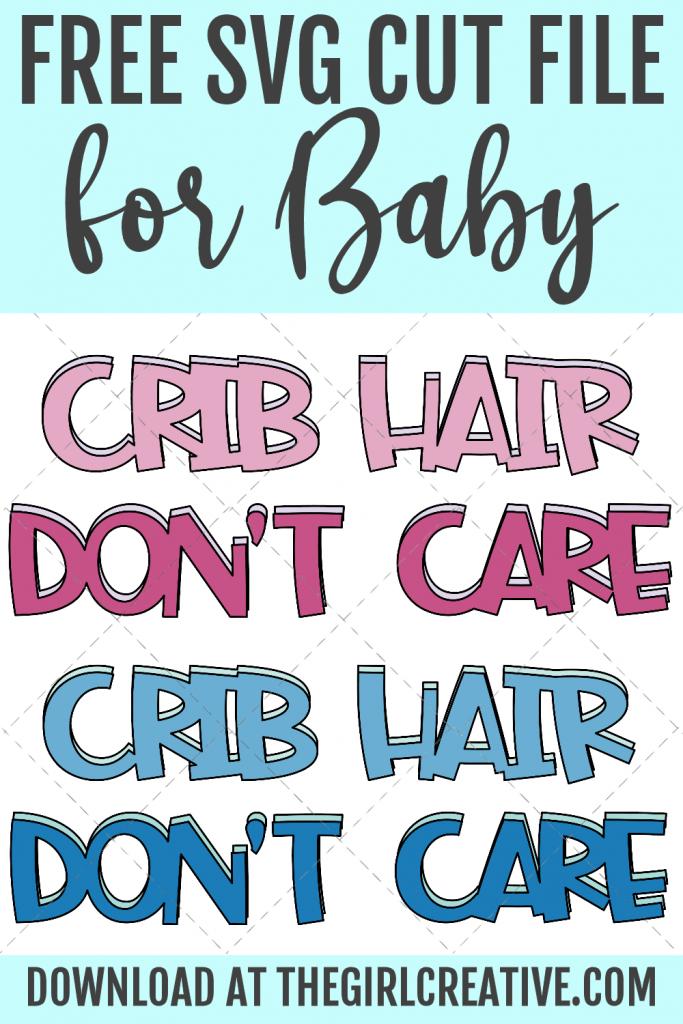 Crib Hair Don't Care design