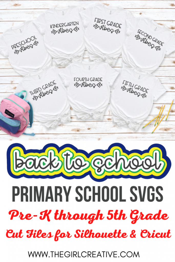 Collage of Back to School Shirt Designs
