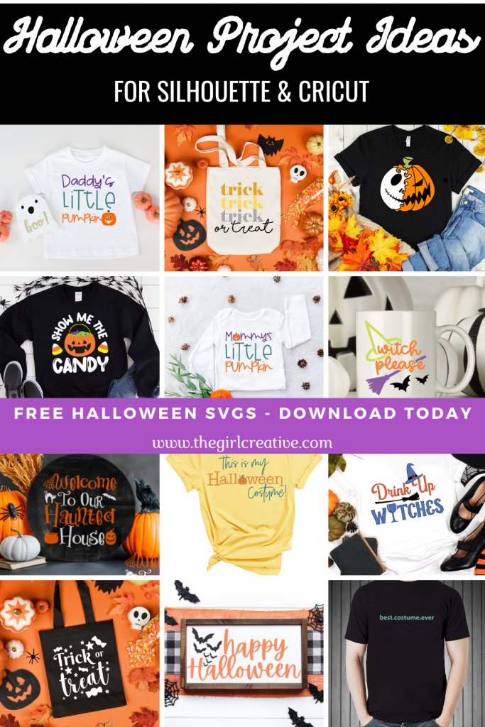 Halloween Projects for Silhouette and Cricut